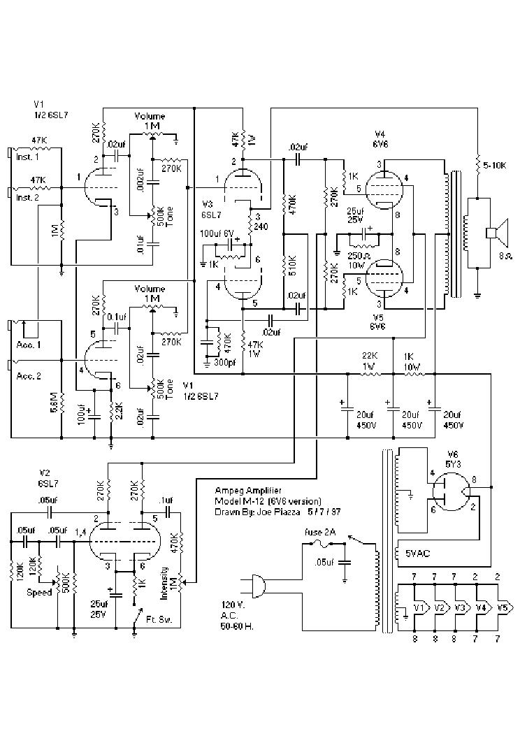 AMPEG SVT-2 PRO POWER AMP Service Manual download