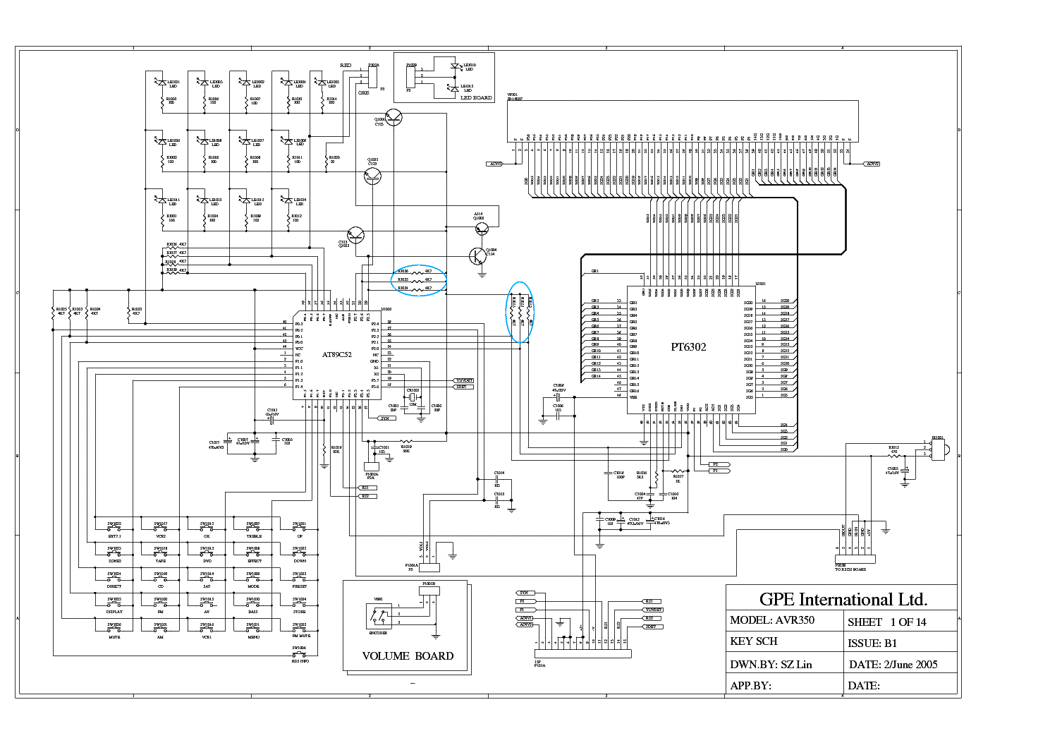 Arcam Avr350 Sch Service Manual Download Schematics