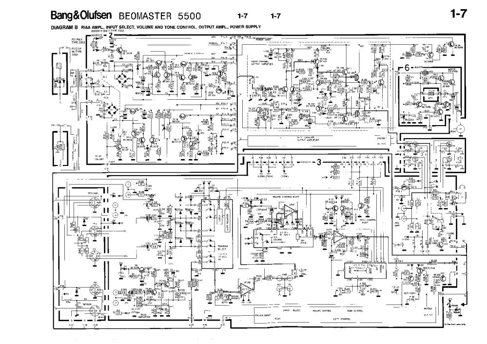 medium resolution of bang olufsen beomaster 5500 service manual 2nd page