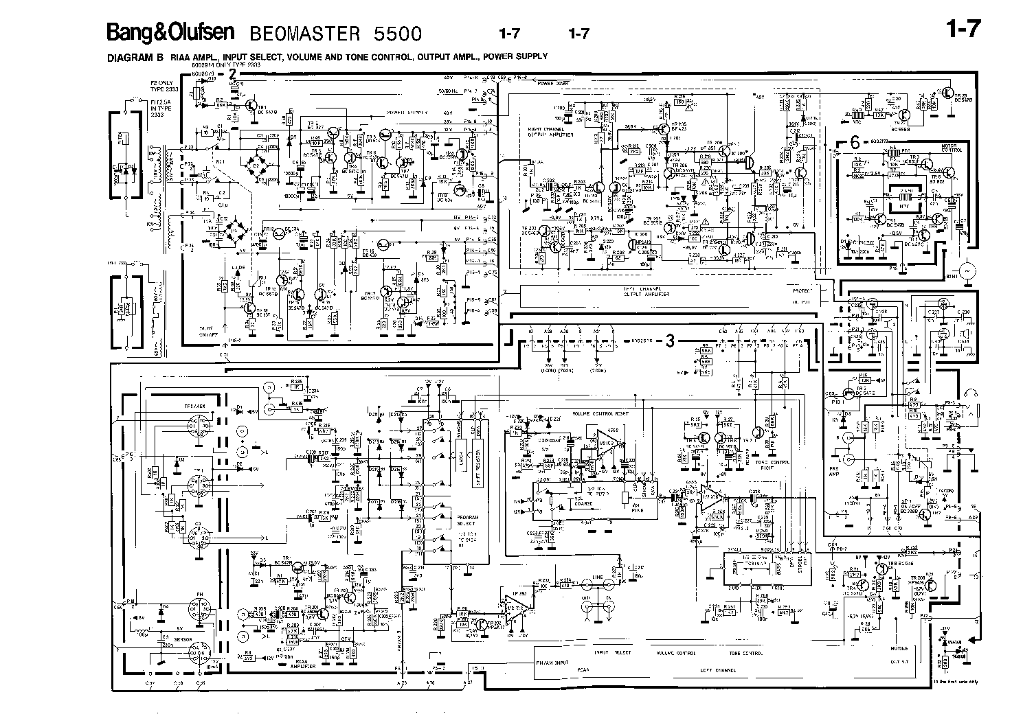 hight resolution of bang olufsen beomaster 5500 service manual 2nd page