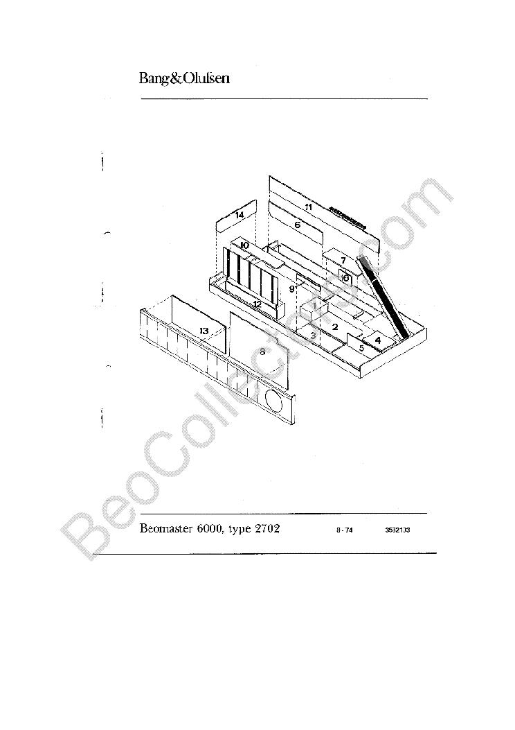 BANG-OLUFSEN BEOMASTER-5500 Service Manual free download