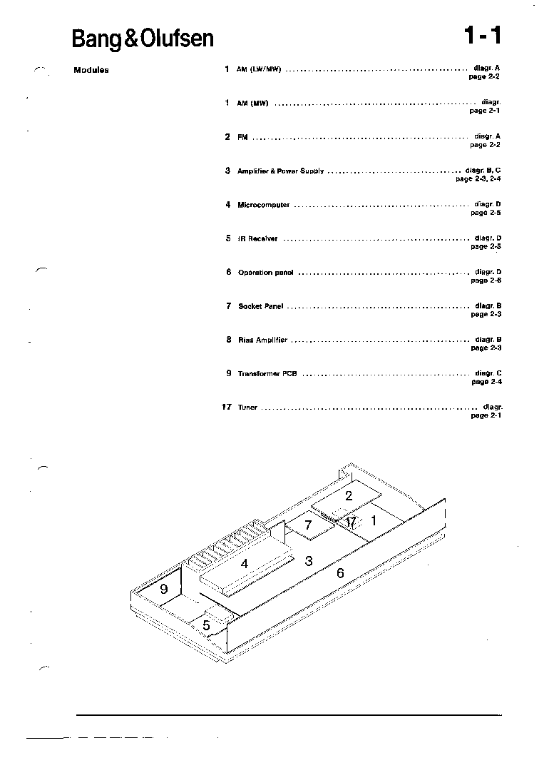 BANGOLUFSEN BEOMASTER 3500,4500 Service Manual download