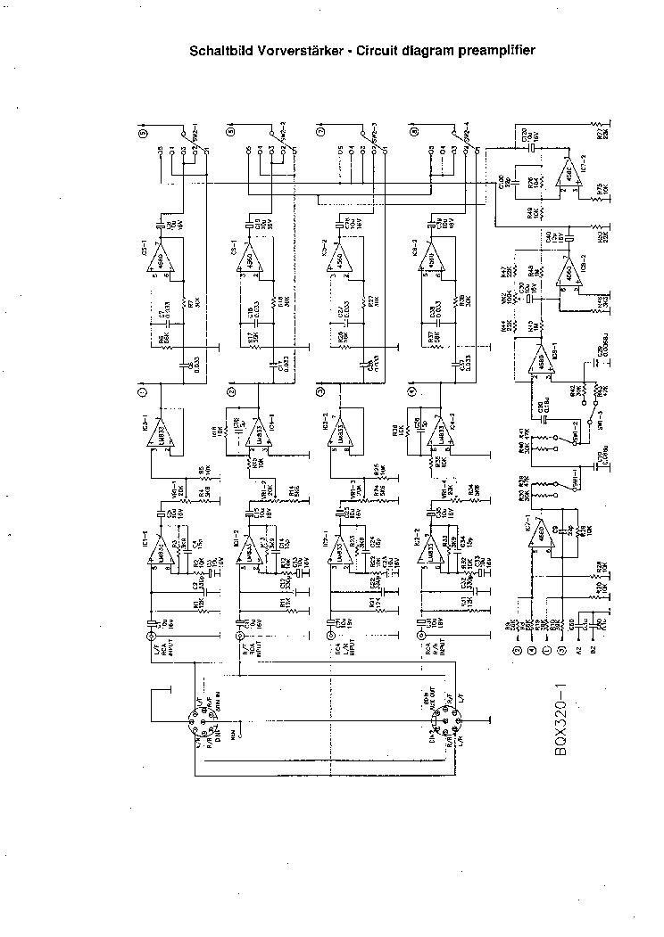 BLAUPUNKT BQX320 Service Manual download, schematics