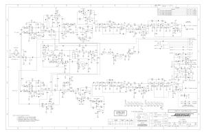 BOSE 901P Service Manual download, schematics, eeprom