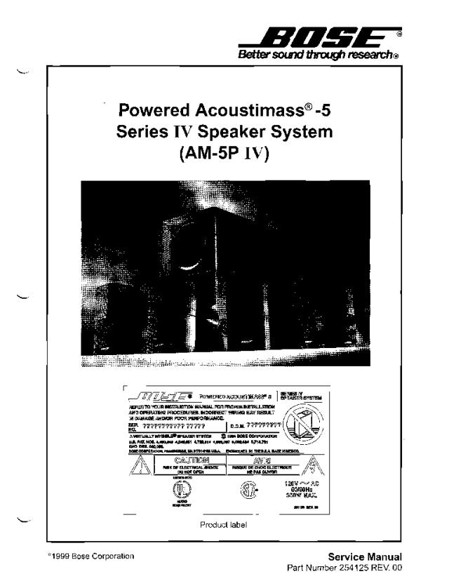 Ausgezeichnet 5 1 Bose Lautsprecher System Schaltplan Galerie ...