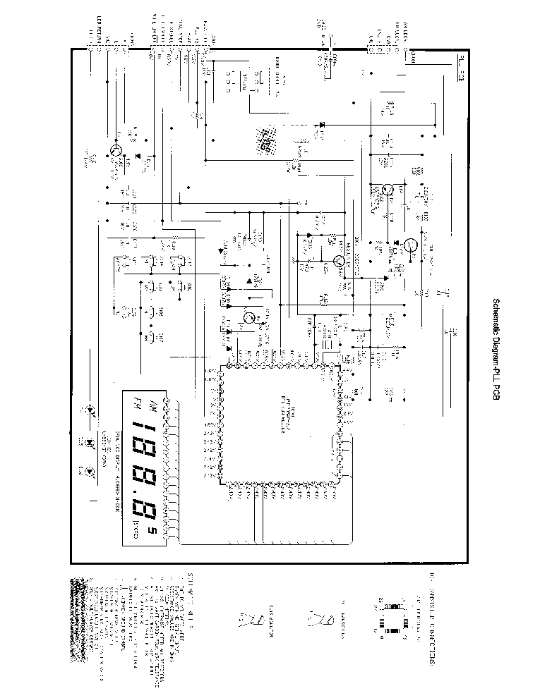 BOSE AWCS2010 Service Manual download, schematics, eeprom