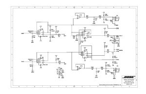 BOSE MODEL 2150 AMPLIFIER Service Manual download