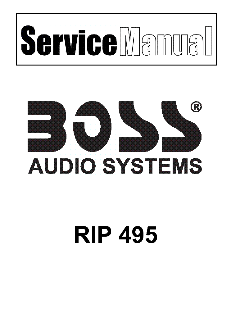 BOSS OC-2 SCH Service Manual download, schematics, eeprom