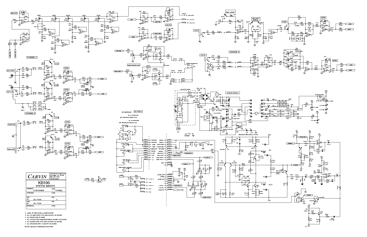 carvin legacy schematic wiring diagram gibson guitar schematics carvin legacy schematic #3