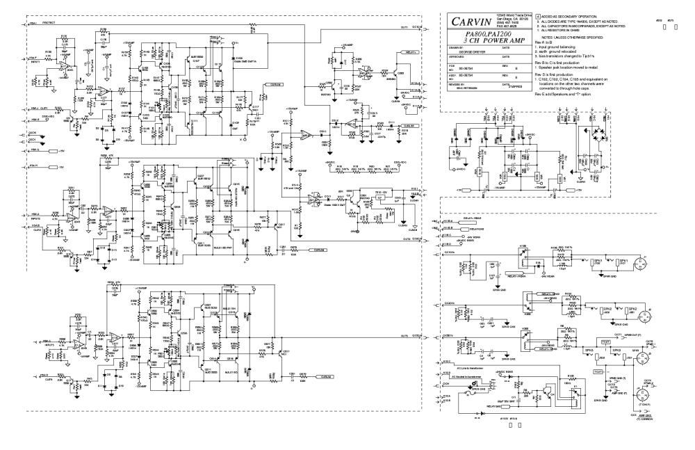 medium resolution of carvin legacy schematic everything wiring diagram carvin  legacy 100 schematic carvin legacy schematic