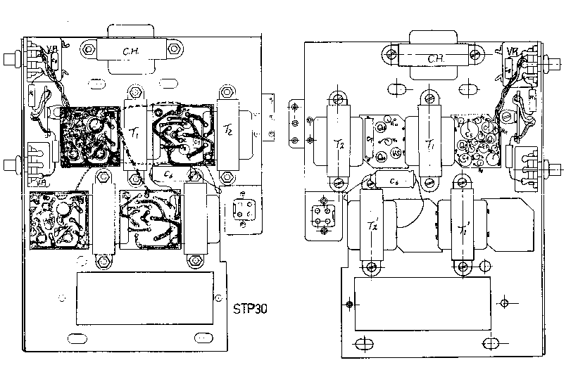 CROWN STP-30 SM Service Manual download, schematics