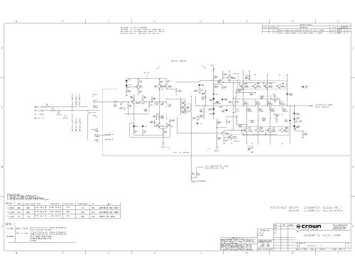 small resolution of crown power base 2 800csl sm service manual download schematicscrown xls2u sch