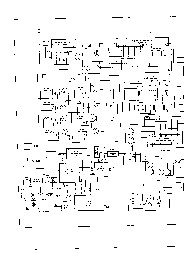 DAEWOO ACD-4250 SCH Service Manual download, schematics