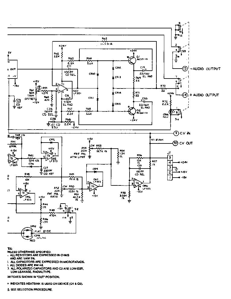 DBX 904 DE-ESSER SM Service Manual download, schematics