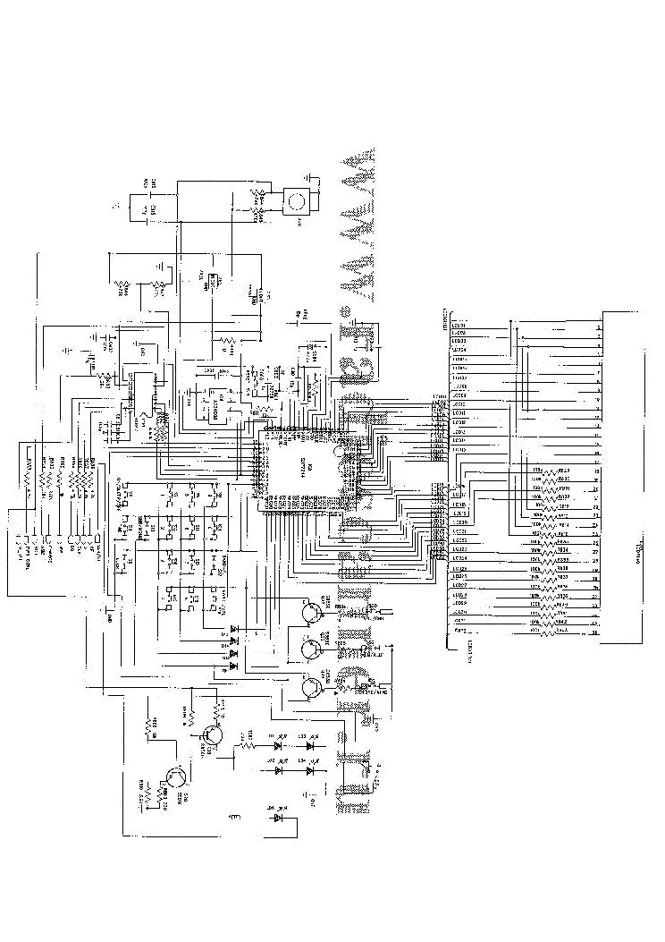 DEGEN DE1103 SCH Service Manual download, schematics