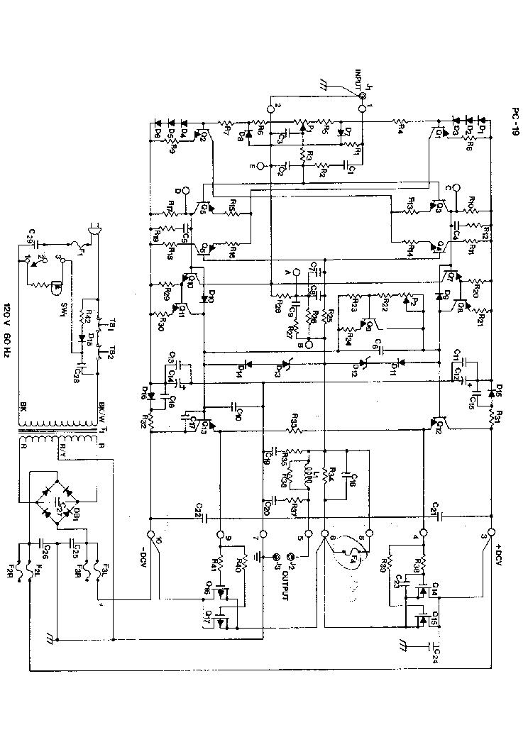 HAFLER DH220-PWR-SCH Service Manual download, schematics