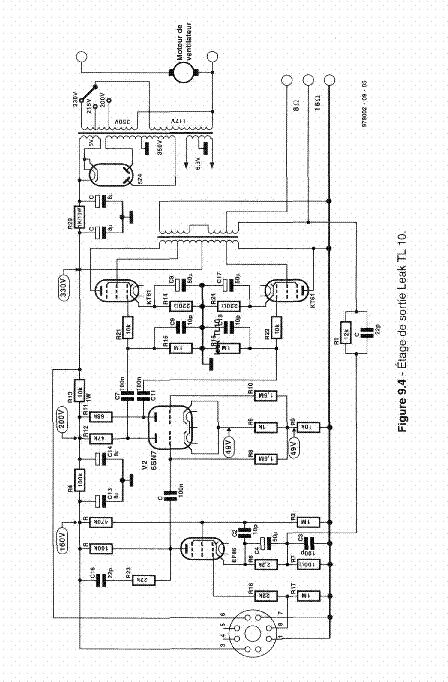 LEAK TL10 OUTPUT SCHEM Service Manual download, schematics