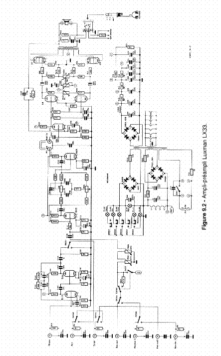 LUXMAN LX33 SCHEM Service Manual download, schematics