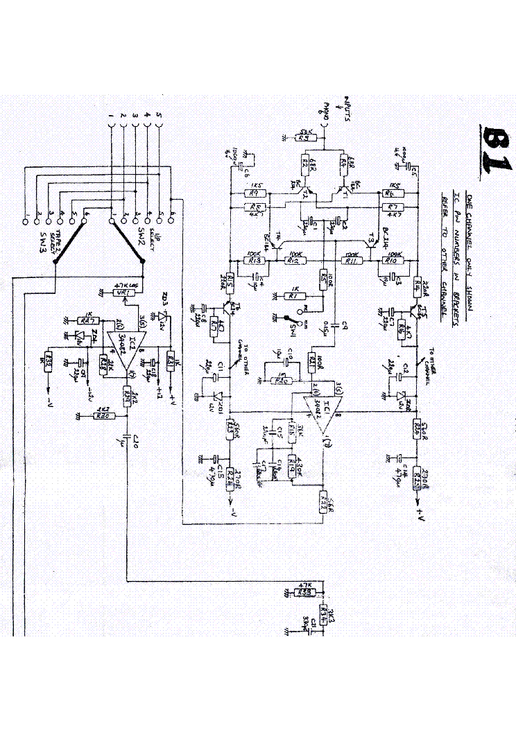 MUSICAL FIDELITY A1000 Service Manual download, schematics