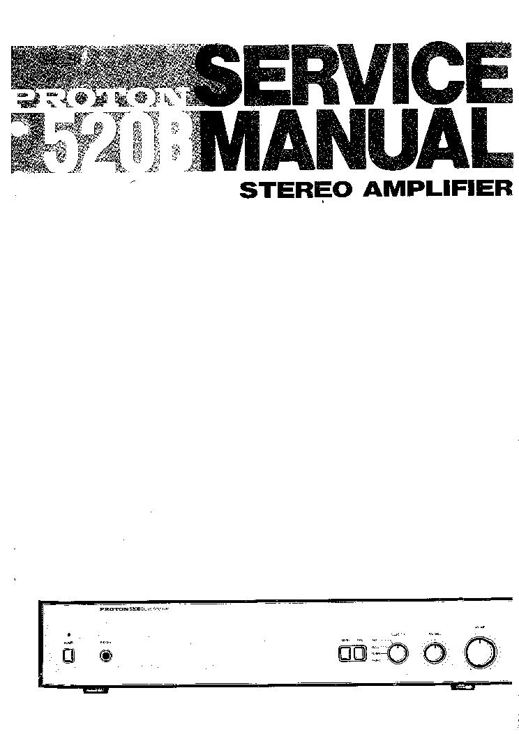 PROTON D-1200 SCH Service Manual download, schematics