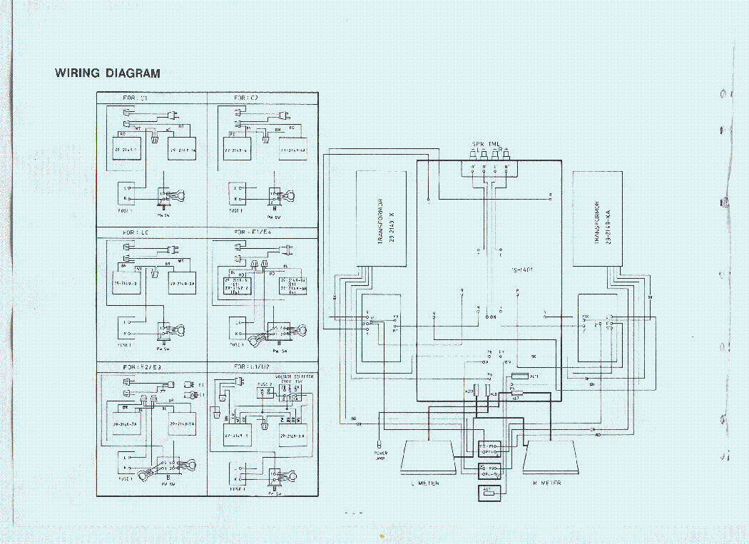 PROTON D-1200 SCH Service Manual download, schematics