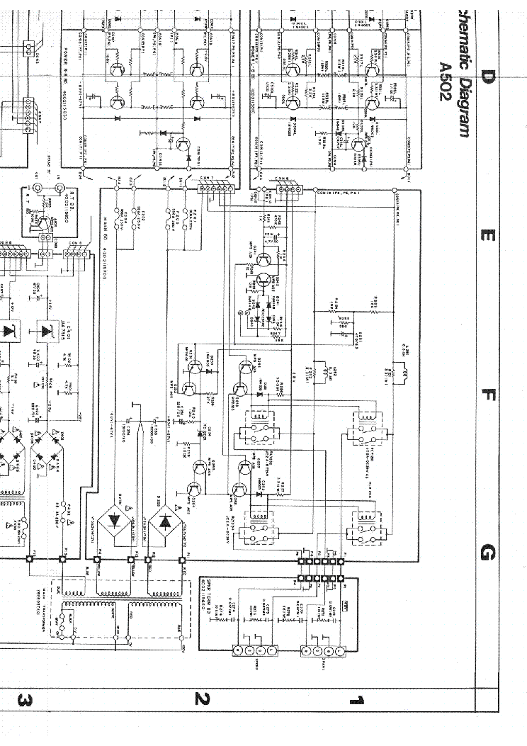 SAE MARK 2400 SCH Service Manual download, schematics