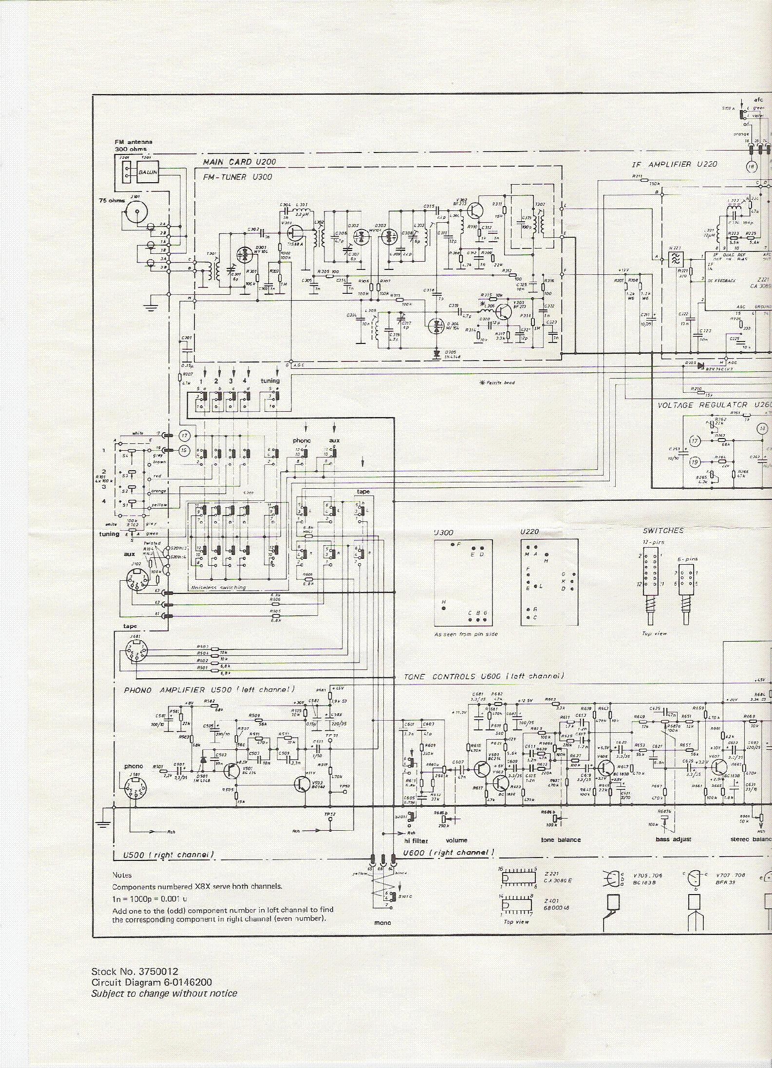 SONAB R4000 Service Manual download, schematics, eeprom