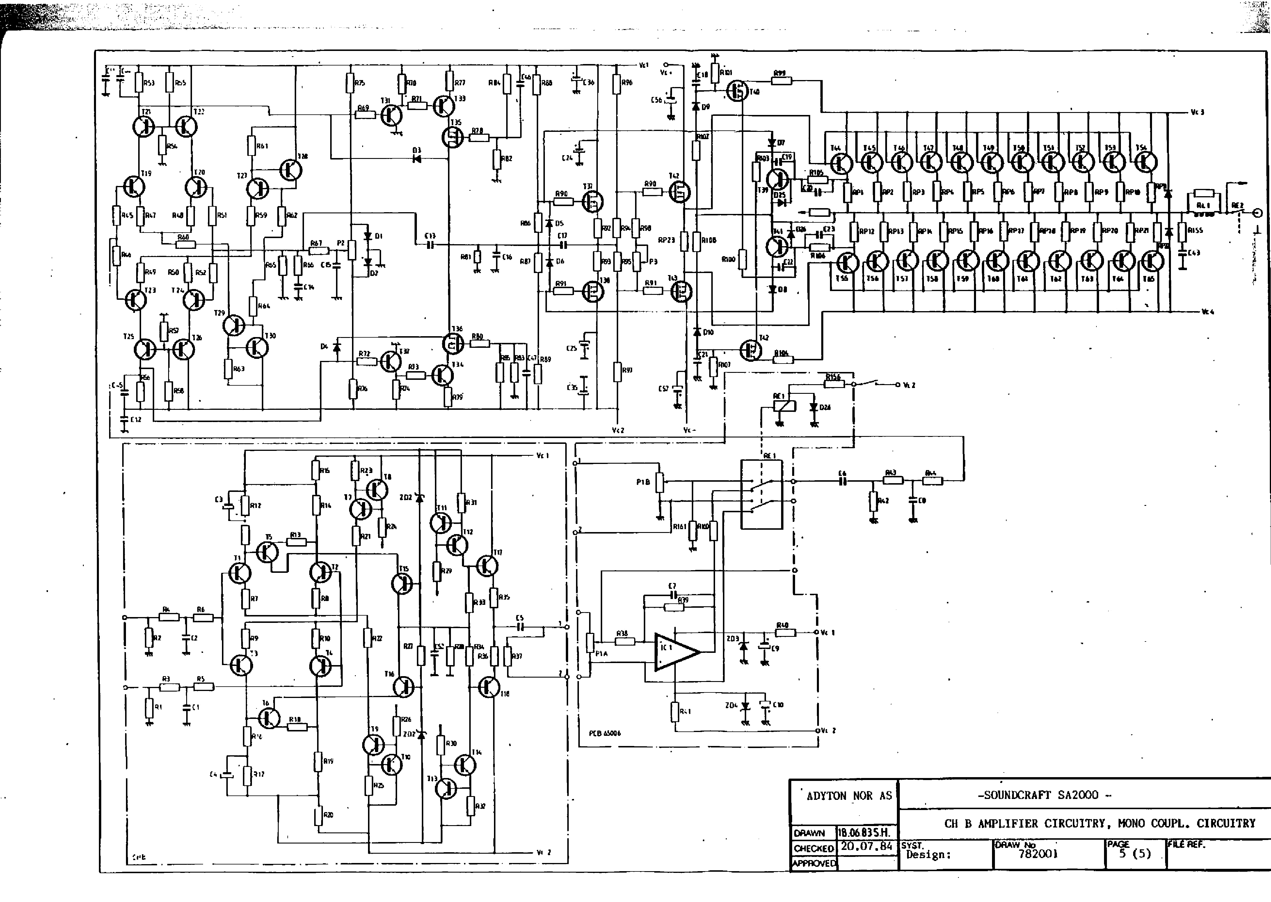 SOUNDCRAFTSMEN RP2212 SCH Service Manual download