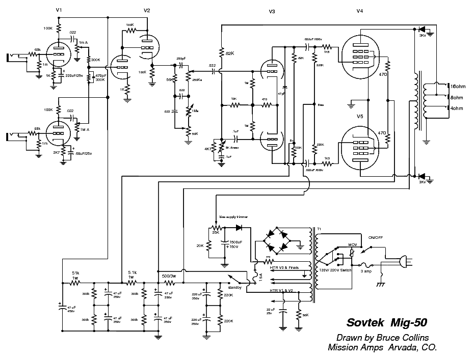 SOVTEK MIG-100H Service Manual free download, schematics