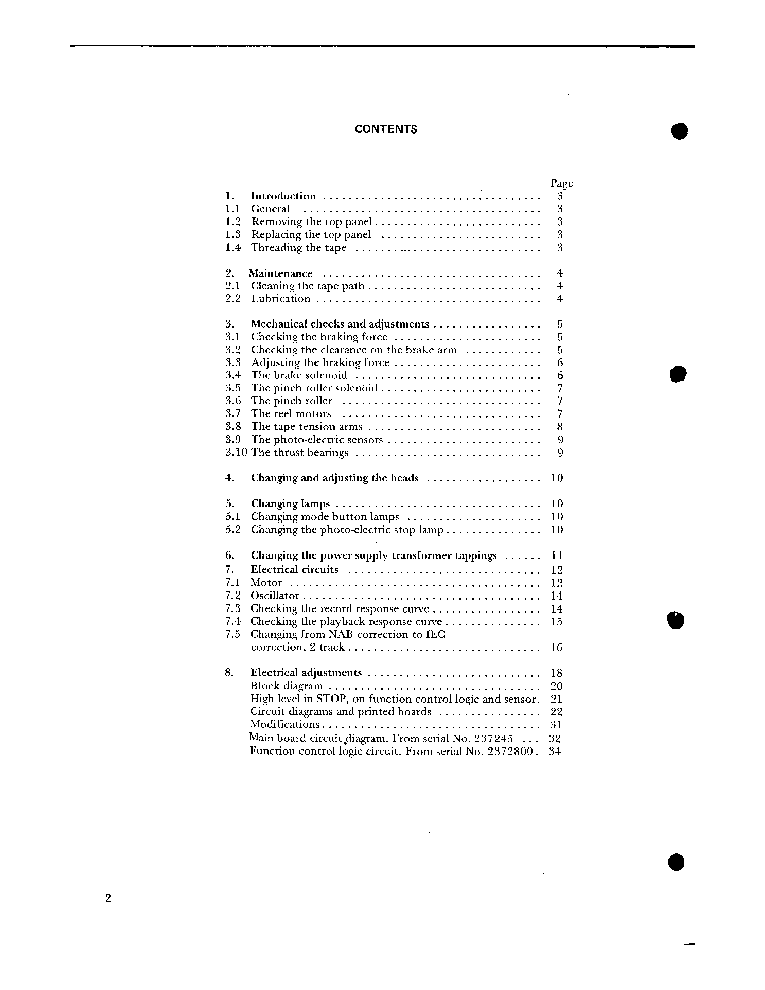 TANDBERG 10XD SM Service Manual download, schematics