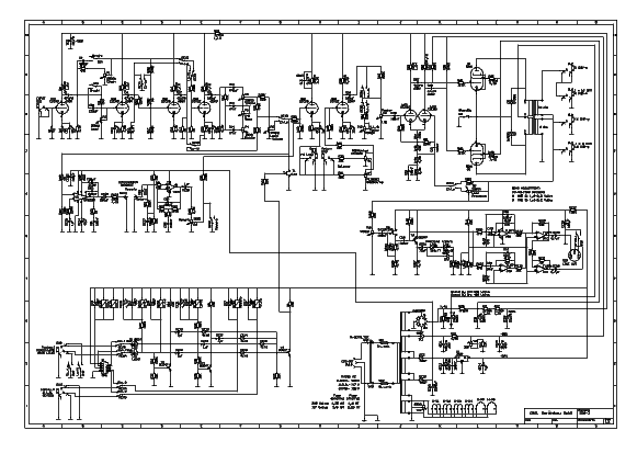 ENGL E530 PREAMP REVERSE ENGINEERED SCHEMATIC Service