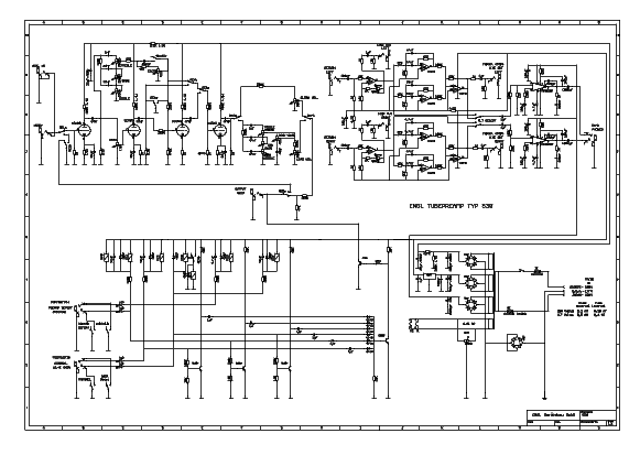ENGL E530 SCH Service Manual download, schematics, eeprom