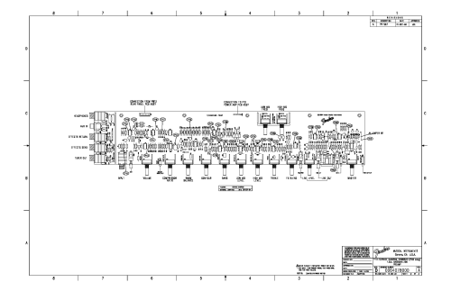 small resolution of fender bassman 250 fba schematic rev a service manual 2nd page
