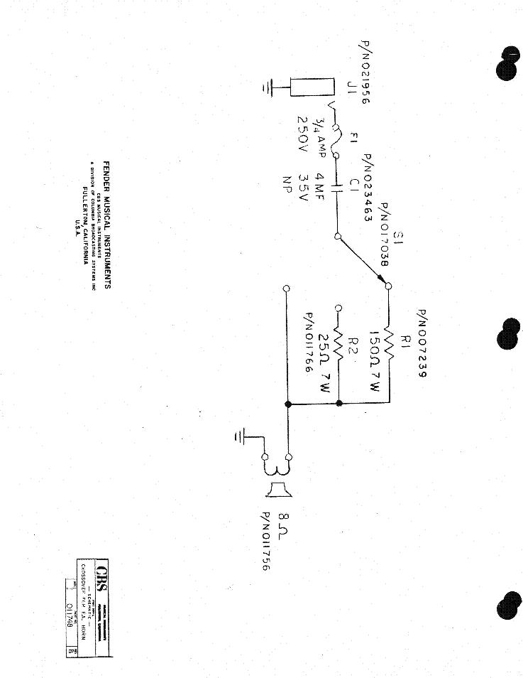 FENDER HOTROD DEVILLE Service Manual download, schematics