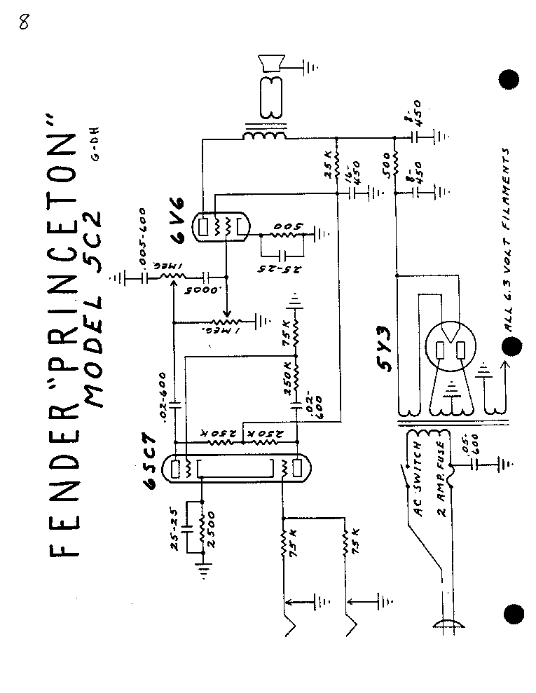 FENDER BANDMASTER-AB763 Service Manual free download