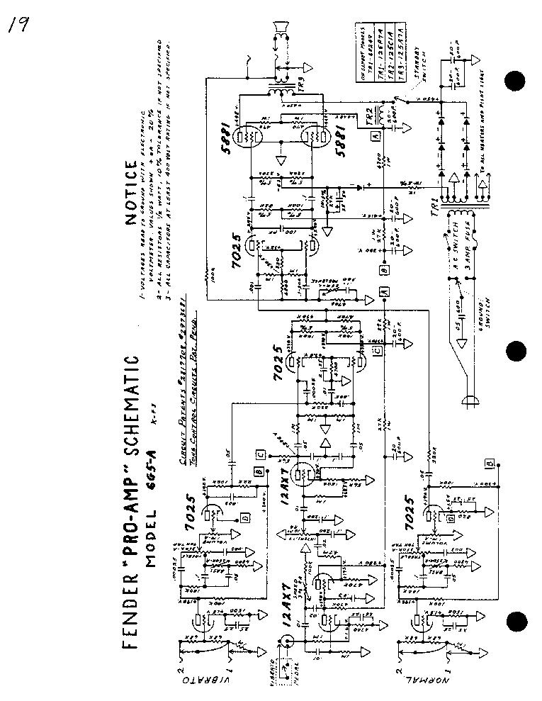 FENDER BASSMAN-20 SCH Service Manual free download