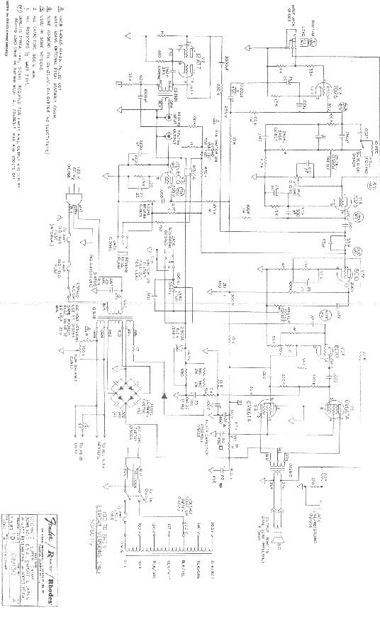 FENDER CHAMP 25 SE SCH Service Manual download, schematics
