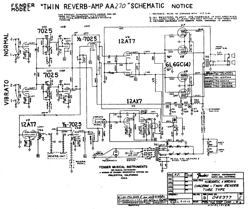 medium resolution of fender reverb wire diagram