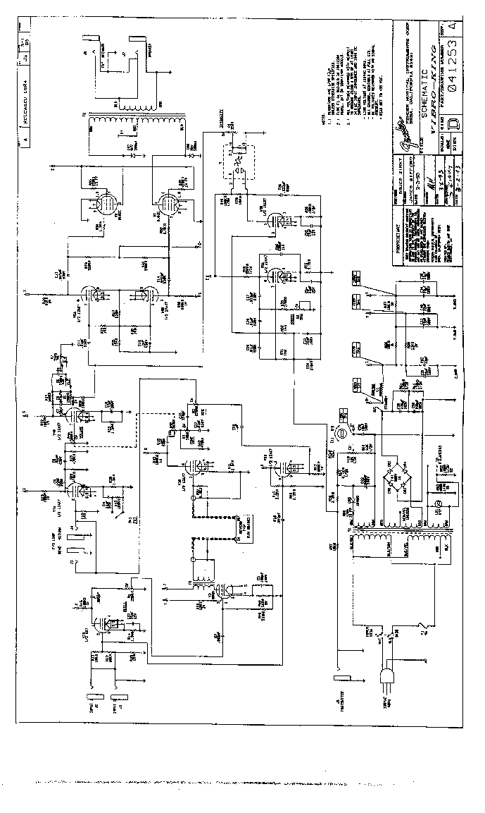 FENDER VIBRO-KING SCH Service Manual download, schematics
