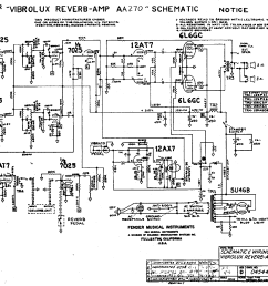 vibrolux reverb schematic online manuual of wiring diagram silverface vibrolux reverb schematic fender vibrolux reverb aa270 [ 2195 x 1818 Pixel ]
