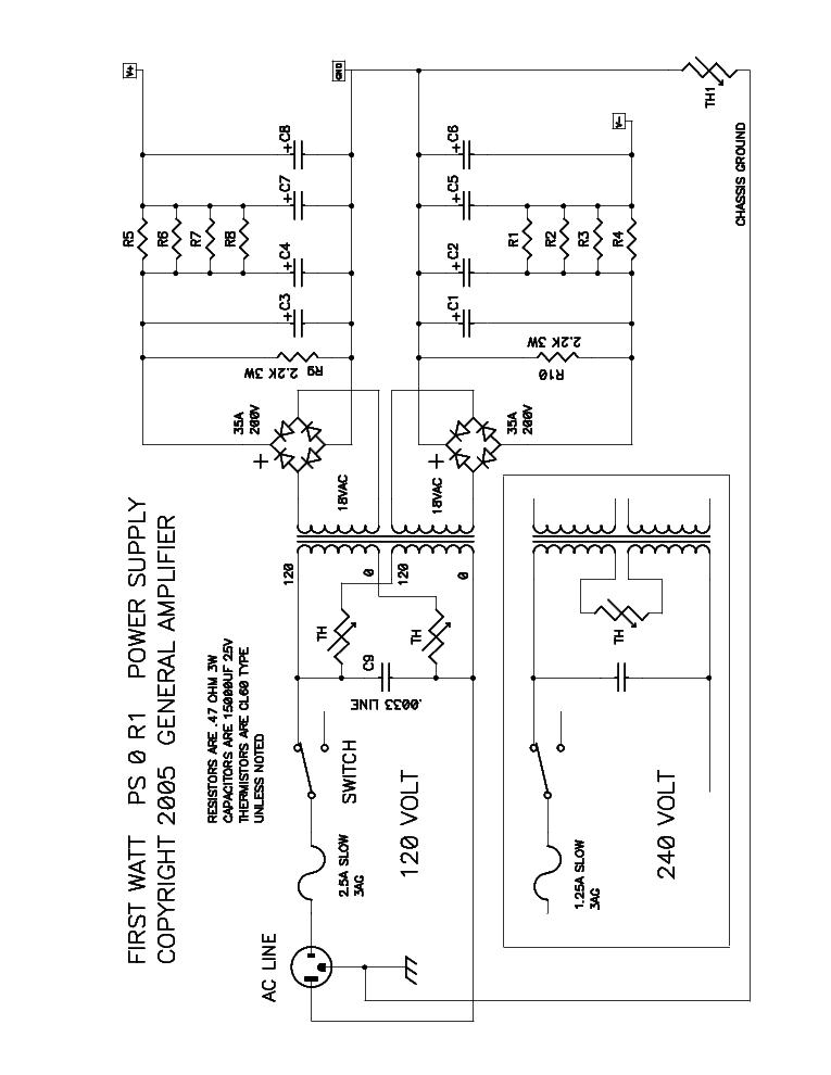 FIRST WATT F3 Service Manual download, schematics, eeprom