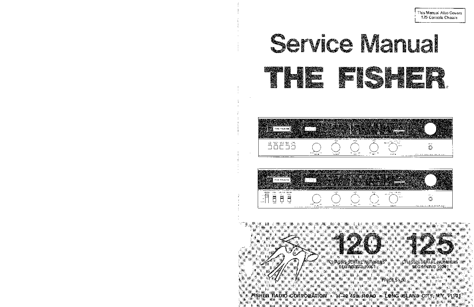 FISHER CA-9040 SM Service Manual free download, schematics