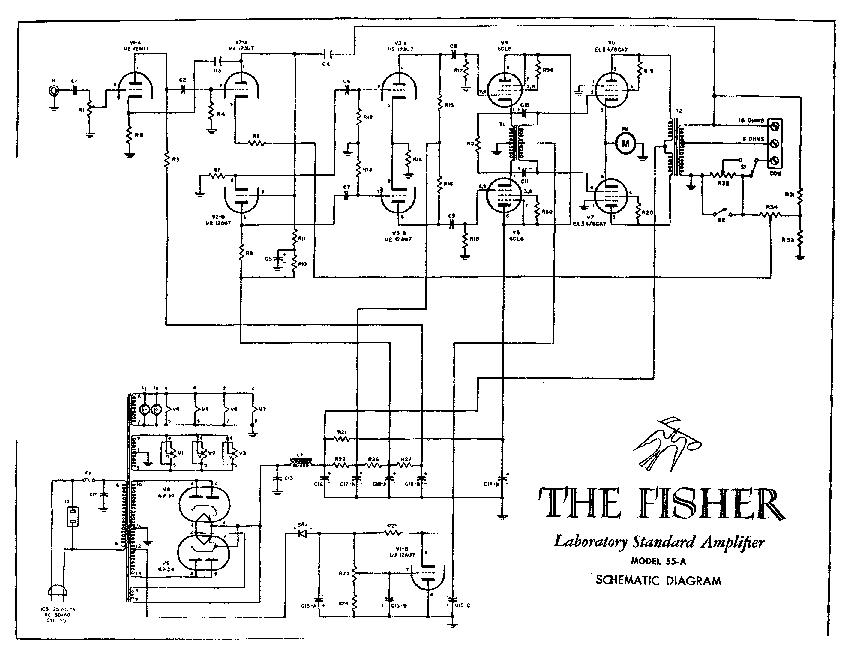 FISHER 55A SCH Service Manual download, schematics, eeprom