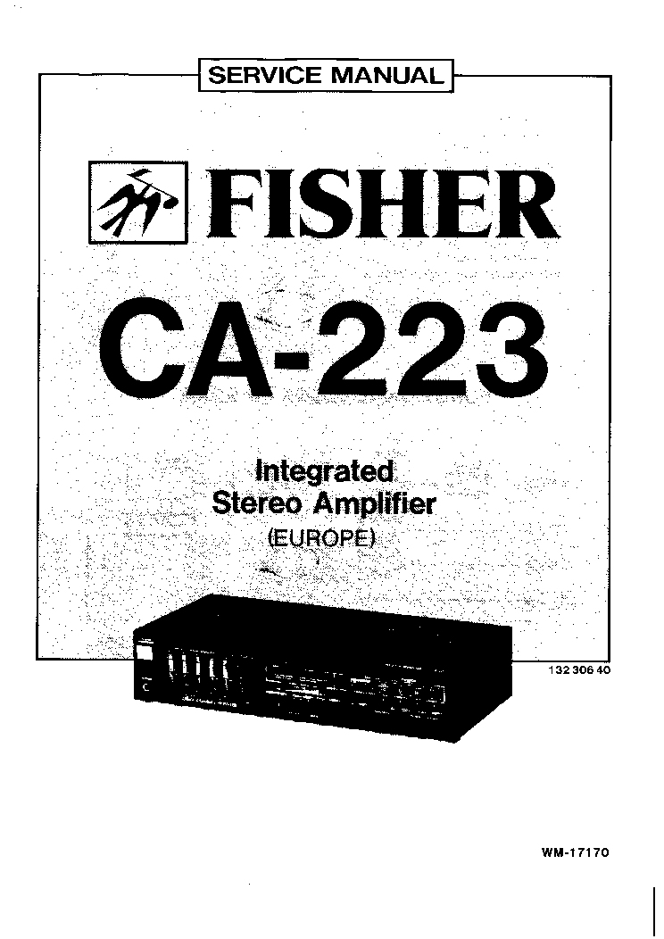 FISHER 800-C SM Service Manual download, schematics