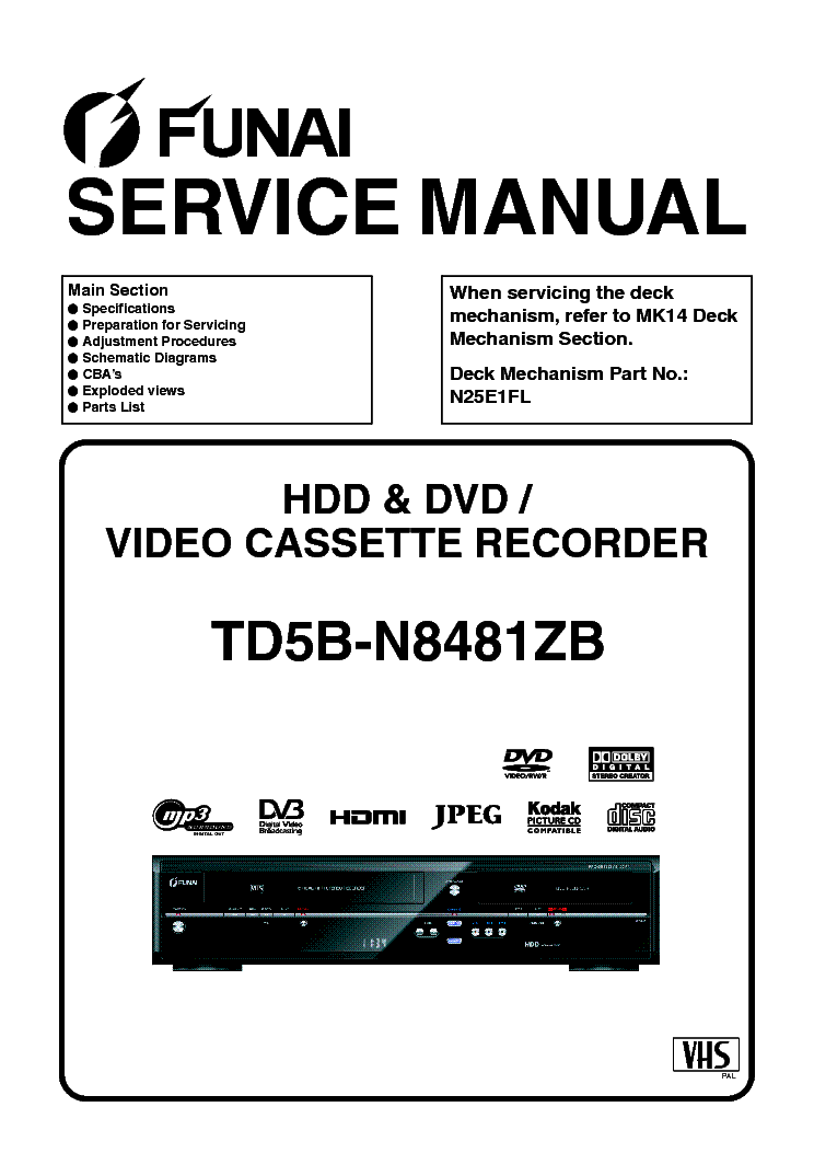 FUNAI MCD-338 Service Manual download, schematics, eeprom