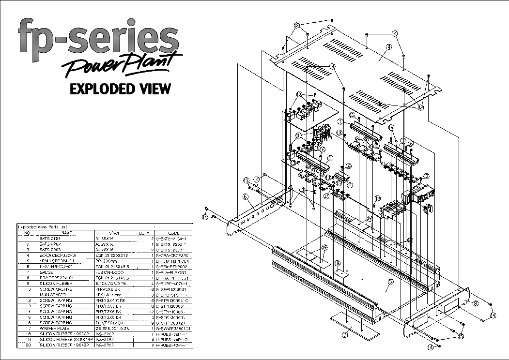 FUSION FP-1404 Service Manual download, schematics, eeprom