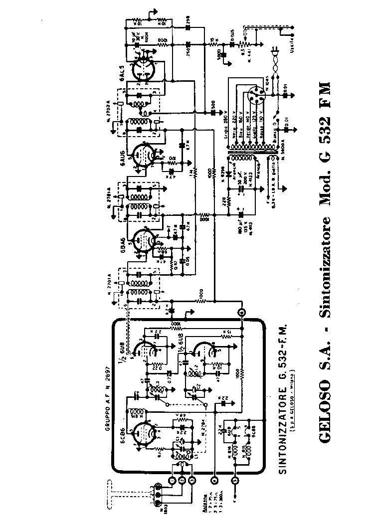 GELOSO G1 1040 RADIO SCH Service Manual download