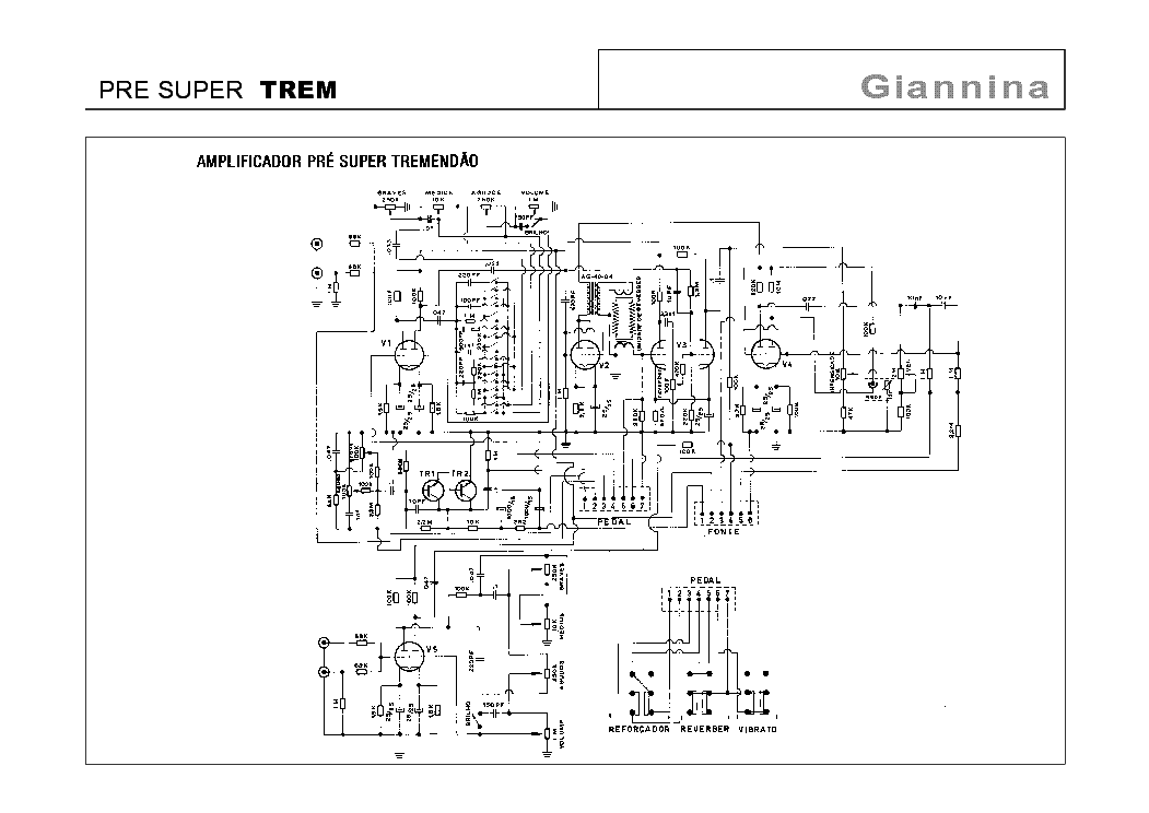 GIANNINA PRE SUPER TREM SCHEMATIC Service Manual download