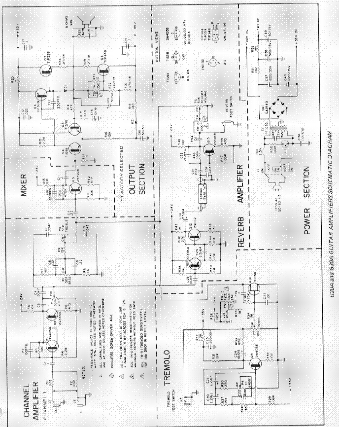 GIBSON GA-45RVT SATURN SCHEMATIC Service Manual download