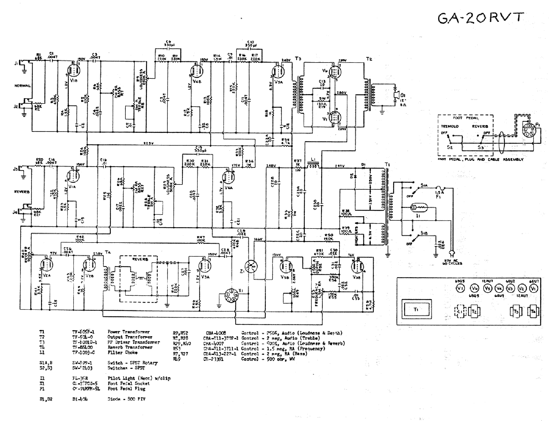 Gibson Gss 50 Schematic Service Manual Download